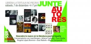 Junte de autores Tertulia postcard